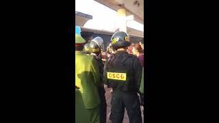 Chủ hàng chửi bới, lăng mạ, vu khống LL chức năng trong vụ bắt tàu hỏa chở hàng lậu tại Lạng Sơn