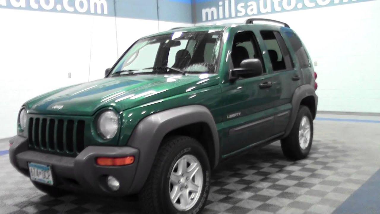 2004 jeep liberty sport 4wd 1f150238a - youtube