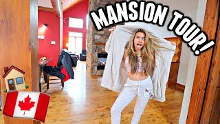 MY HUGE CANADA MANSION TOUR! Trying to find the Troy to my Gabriella at a ski resort on New Years