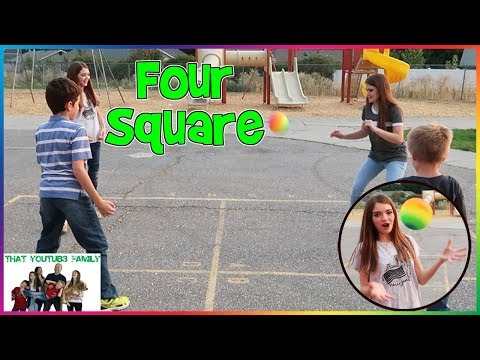 FOUR SQUARE - PLAYGROUND WARS / That YouTub3 Family
