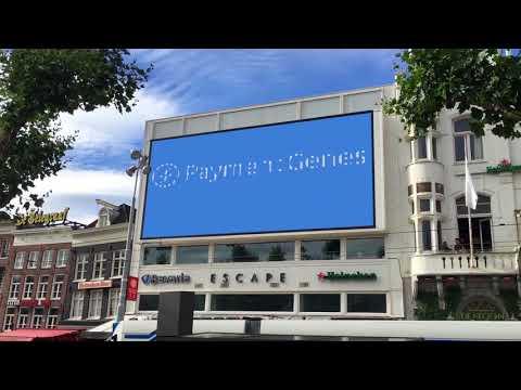 Billboard Amsterdam Rembrandtplein visibility PaymentGenes