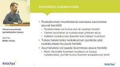 Yleinen asumistuki opiskelijoiden tukena, lakimies Mikko Horko