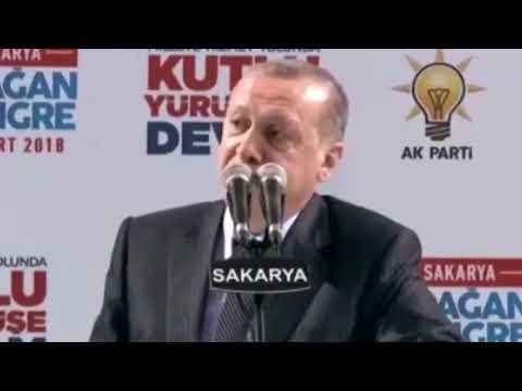 Erdoğan ;Bir sabah gelecek kardan aydınlık!