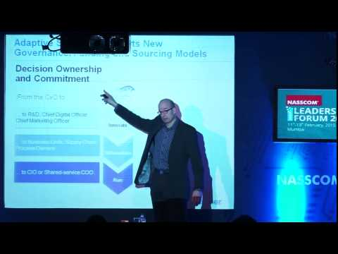 NASSCOM ILF - 2015: Day 1: Analyst Corner by Gilbert van der