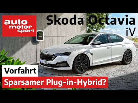 Skoda Octavia iV: Ist der Plug-in-Hybrid wirklich sparsam? – Fahrbericht/Review | auto motor sport