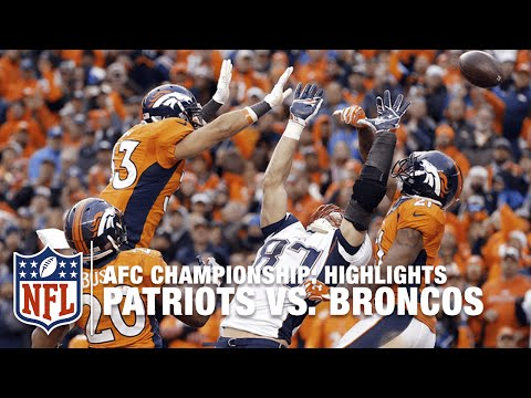 Patriots vs. Broncos | AFC Championship Highlights | NFL