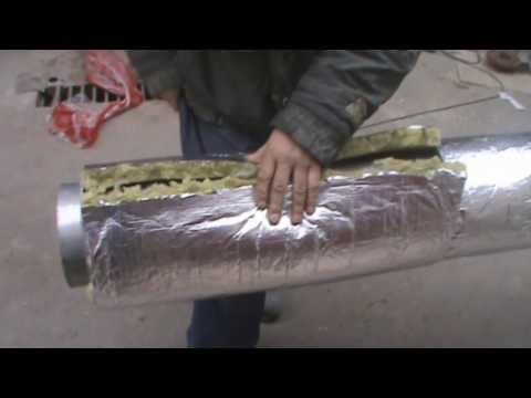 Как сделать сэндвич дымоход,своими руками.Супер дымоход!
