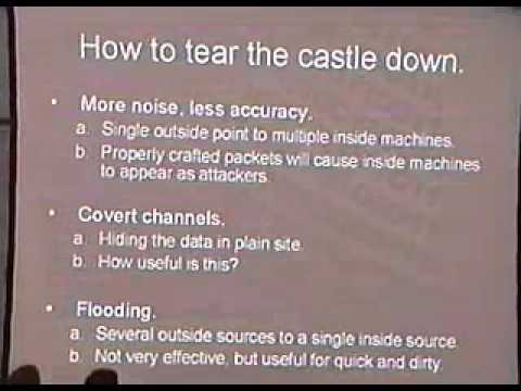 DEF CON 11 - David Maynor - Why Anomaly Based Intrusion Detection Systems Are A Hackers Best Friend