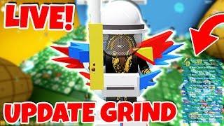 BEE SWARM SIMULATOR UPDATE GRIND & CHILL! ! Server ! Discord (Roblox Live)