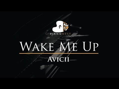 Avicii - Wake Me Up - Piano Karaoke  Sing Along  Cover with