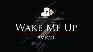 Avicii - Wake Me Up - Piano Karaoke / Sing Along / Cover with Lyrics