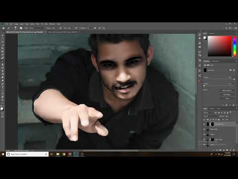 Skin Retouching like a pro in 4 clicks using Photoshop
