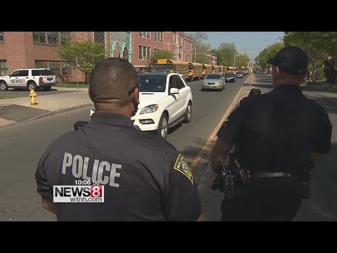 New Haven police cracking down on drivers passing stopped school buses