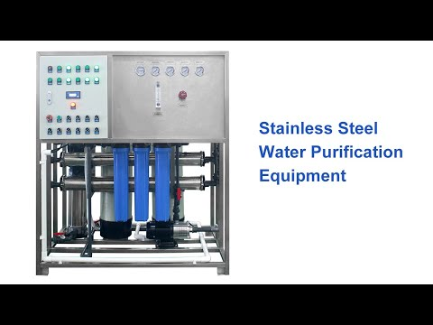 Stainless Steel Water Purification Equipment