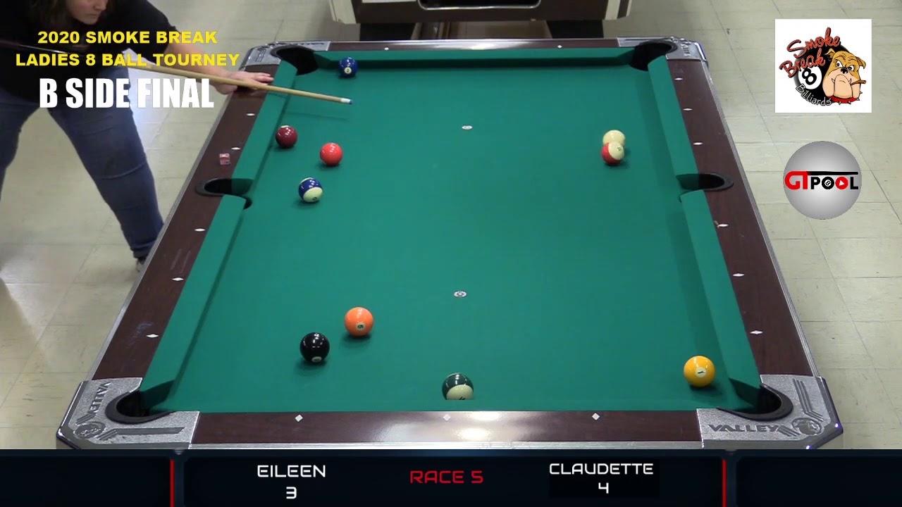 2020 Smoke Break Billiard Ladies 8 Ball Tournament --- ELITE 8 Part 8