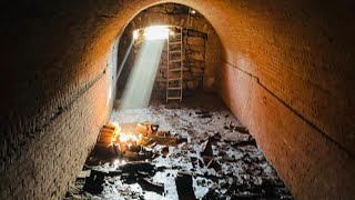 Homeowners Discover Secret Tunnel Under Their House