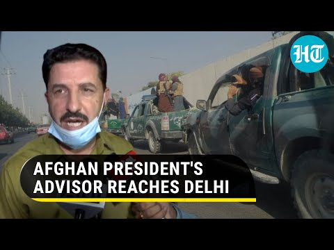Afghan president's advisor arrives in India, says all ministers left Kabul after Taliban takeover