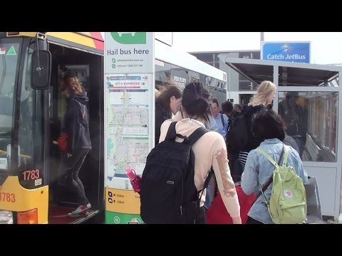J1 & J2 bus Adelaide Airport 2014 Video