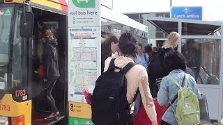 j1 j2 bus adelaide airport 2014 video