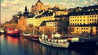 ШВЕЦИЯ: Осенний Стокгольм... прогулка по центру города... Швеция... Sweden Stockholm