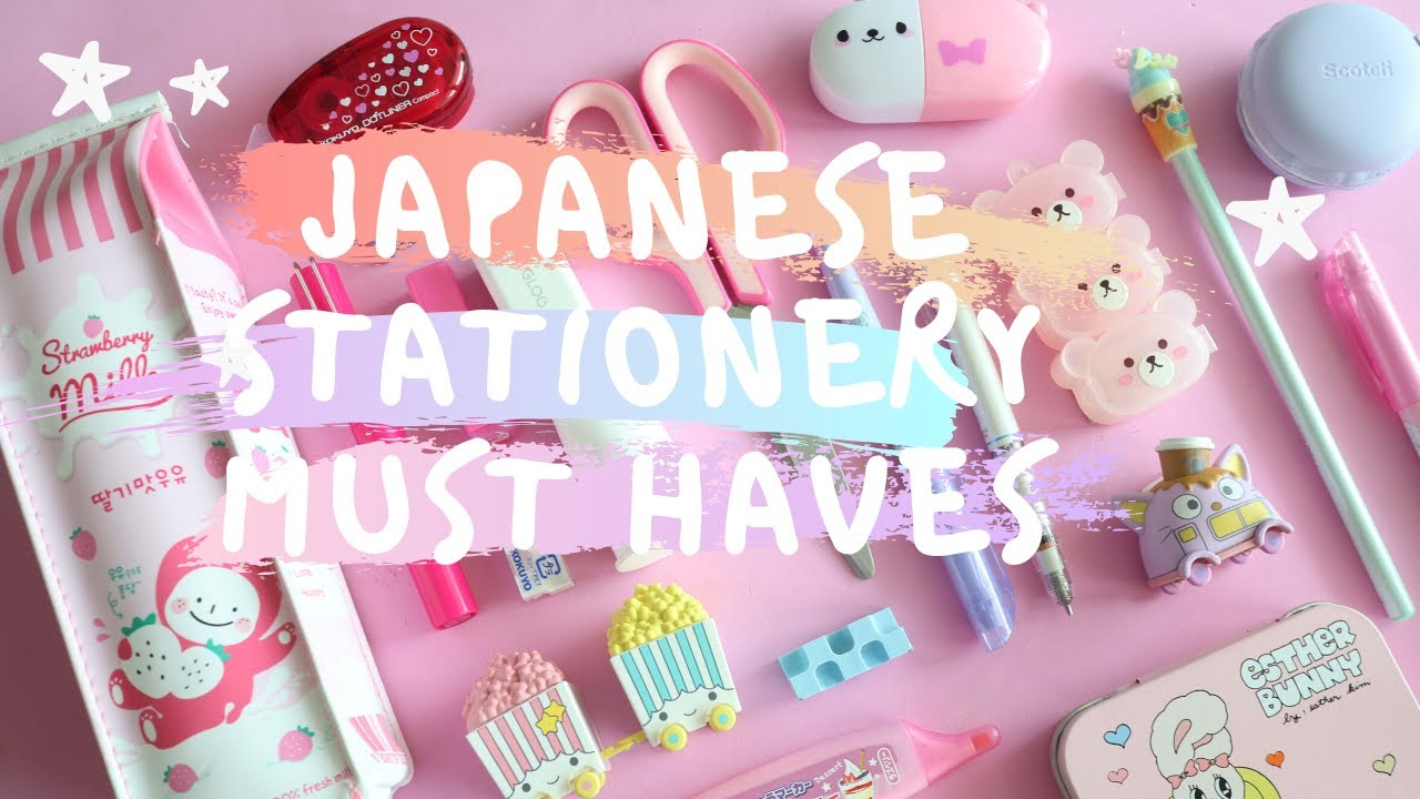 Cool & Unique Japanese Stationery Must Haves Available on Amazon!