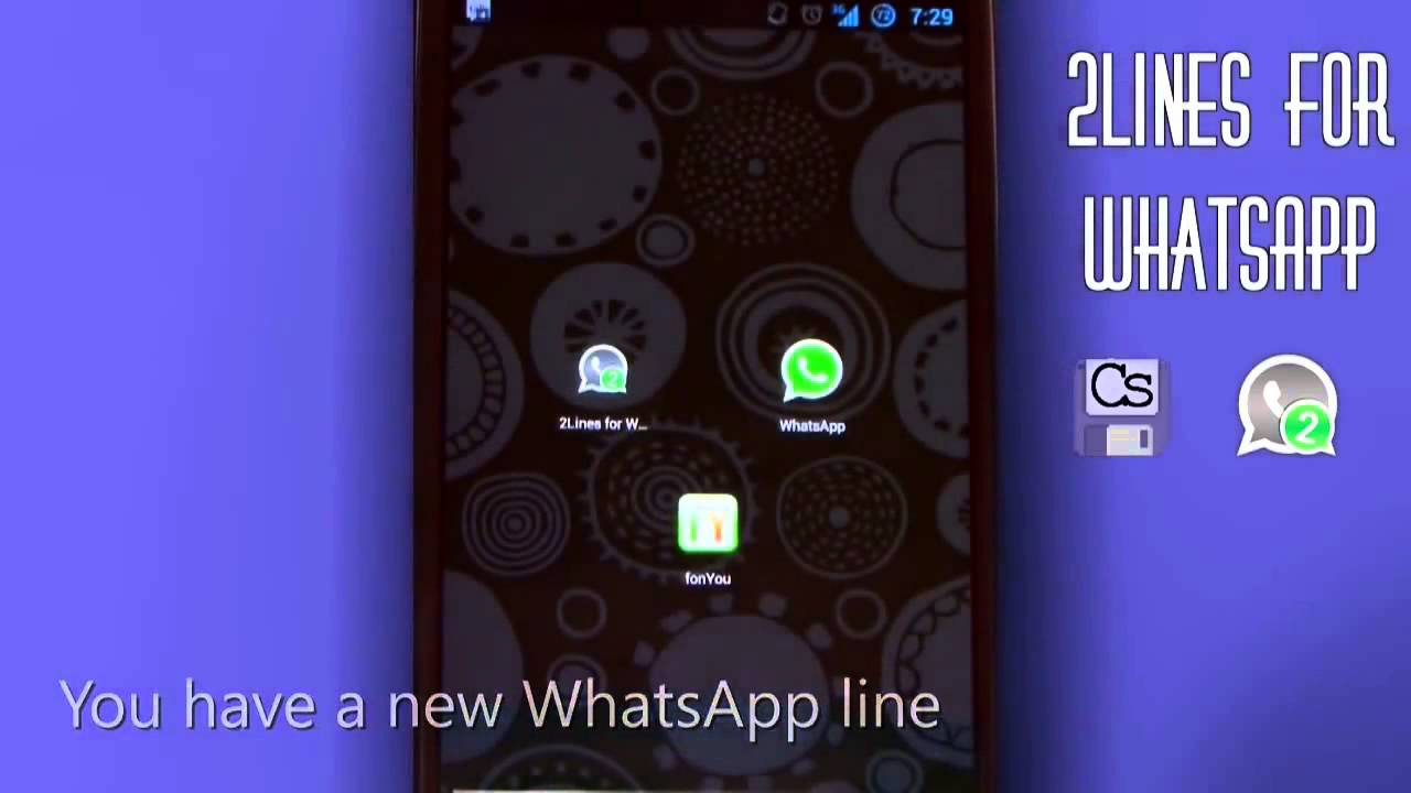 Tutorial 2 Lines For WhatsApp