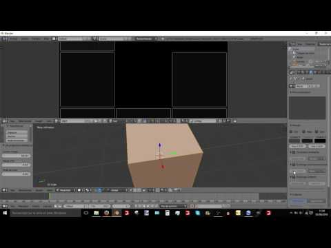 Blender tutorial how to do AO ( ambient occlusion )