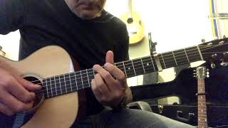 While My Guitar Gently Weeps - Collings 01 and Gibson J45
