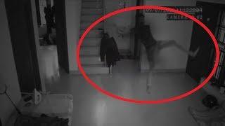 5 Lần Ma Tấn Công Con Người Vô Tình Được Camera Quay Lại || 5 Ghost Attacks Caught On Camera