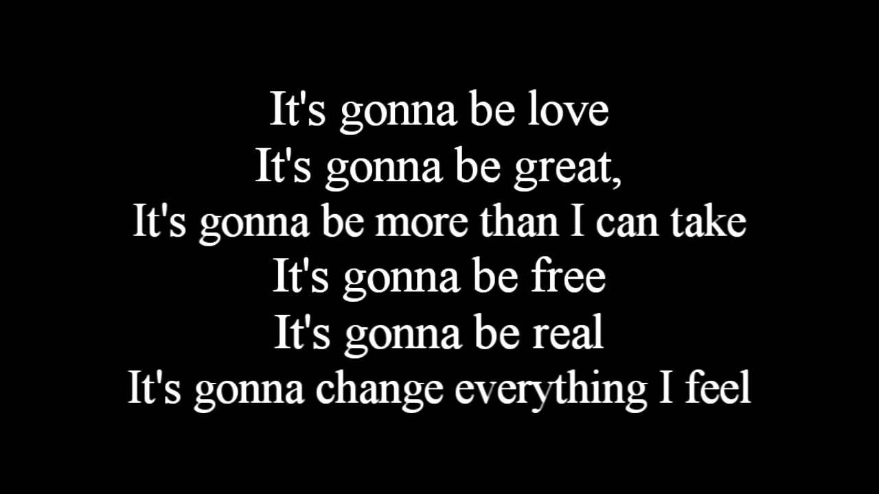 Mandy Moore - It's gonna be love lyrics - YouTube
