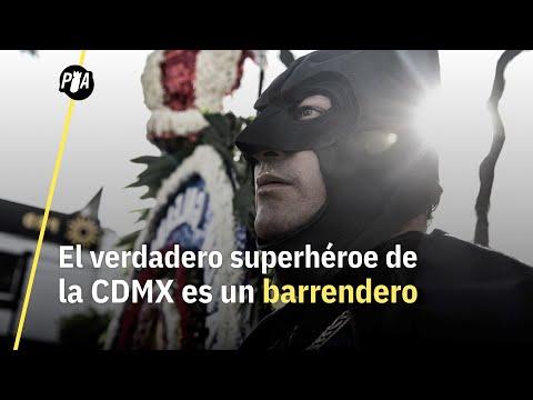 El verdadero superheroe de la CDMX: Vaquero