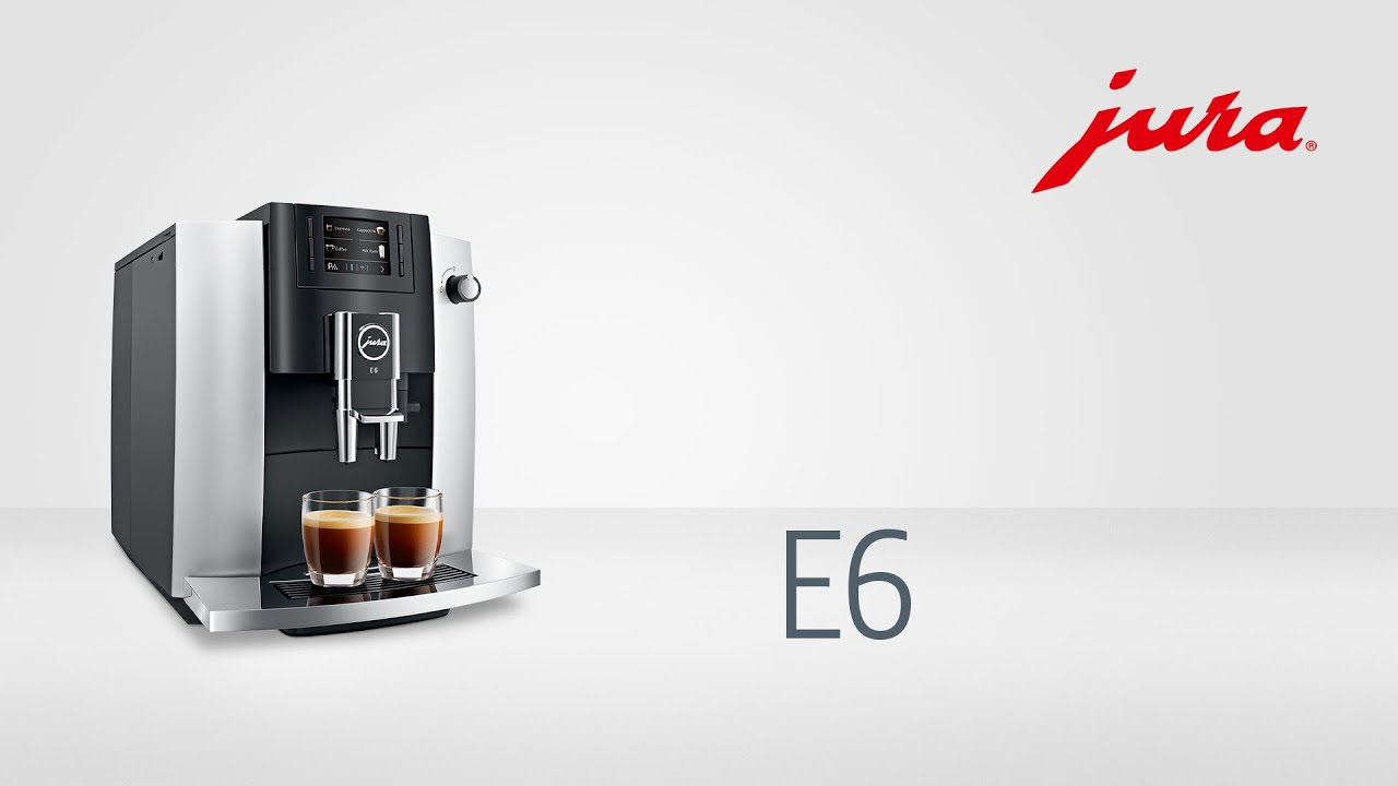 jura e6 kaffeevollautomat fully automatic coffee. Black Bedroom Furniture Sets. Home Design Ideas