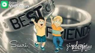 Friendship day status video by ziyaul hassan