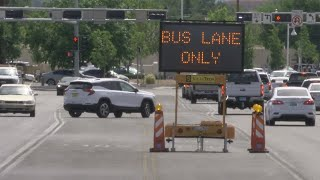 No apparent police enforcement of ART lanes on first day of bus driver training