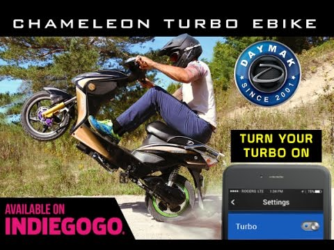 Chameleon Turbo Ebike available on Indiegogo