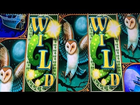 BIG WIN Full Screen! Sea of Tranquility Slot Machine Bonus + Retrigger