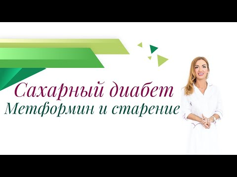 Сахарный диабет. Метформин и старение. Врач эндокринолог, диетолог Ольга Павлова.