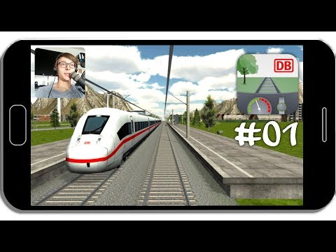 DB Zug Simulator #01 Die erste Fahrt! ☆ Let's Play Android Simulationen