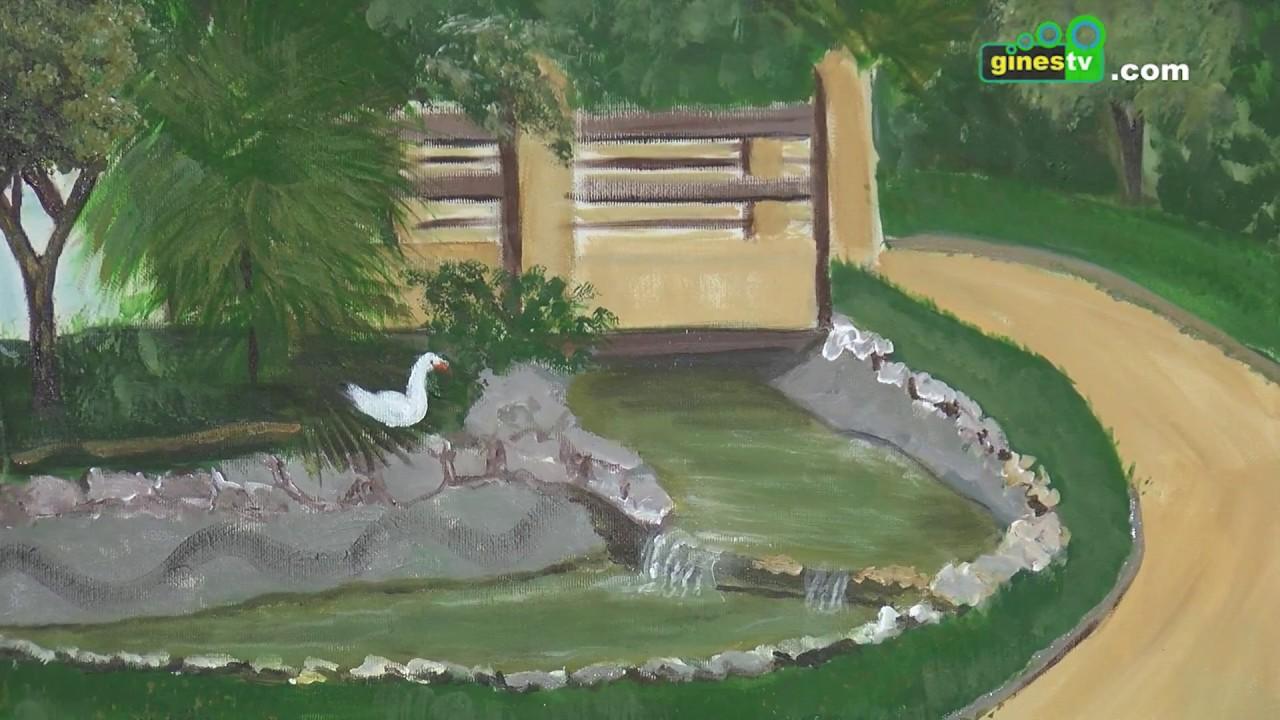 La exposición 'Un parque para pintar', hasta el día 22 en Servicios Sociales