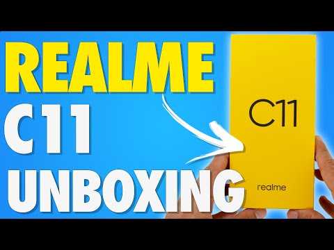 REALME C11 Unboxing And Hands On Experience: A Very Interesting Option❗