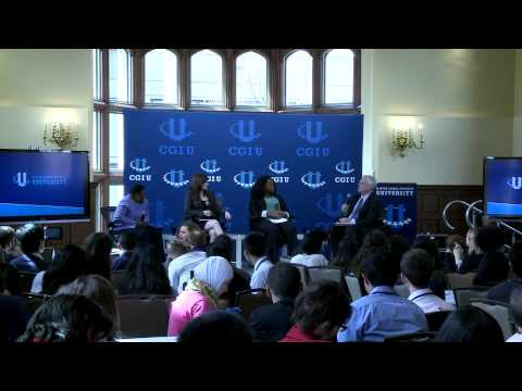 Poverty and Promise in America's Rust Belt Discussion Panel- CGI U 2013