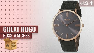 Save Big On Hugo Boss Watches Black Friday / Cyber Monday 2018 | Black Friday Guide