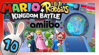 Lagebesprechung, amiibo & Backtracking World 1 🐰 MARIO + RABBIDS KINGDOM BATTLE Part 10