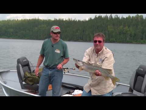 MidWest Outdoors TV Show #1614 - Showalter's Fly-In Outpost Pike Adventure