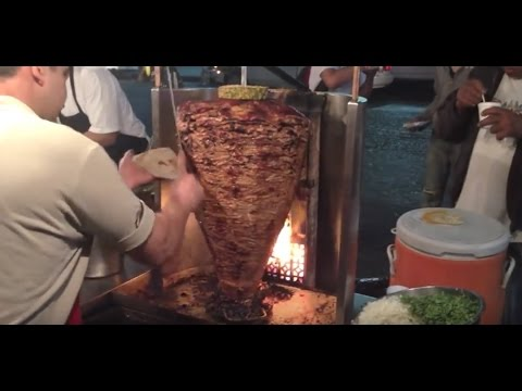 Delicious Mexican Street Food Vendors in Action
