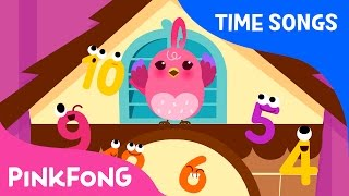 Clock Song | Time Songs | Pinkfong Songs for Children