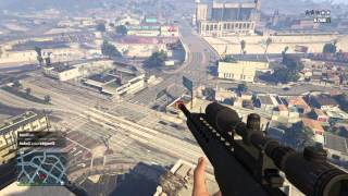 Gta V Ps4 Sniping online players
