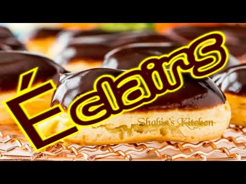 Éclairs||french-eclairs||the-perfect-classic-chocolate-eclair-recipe||creamy-chocolate-eclairs||