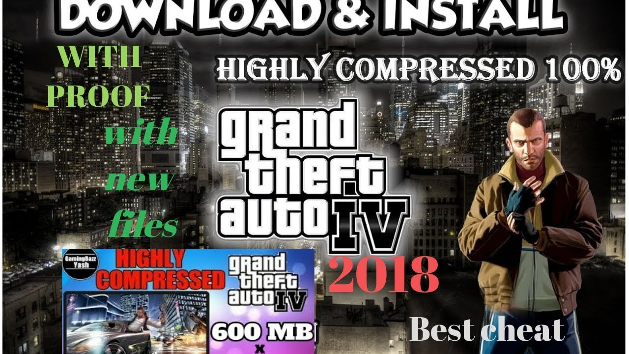 How To Download Gta 4 Game In Highly Compressed With Proof