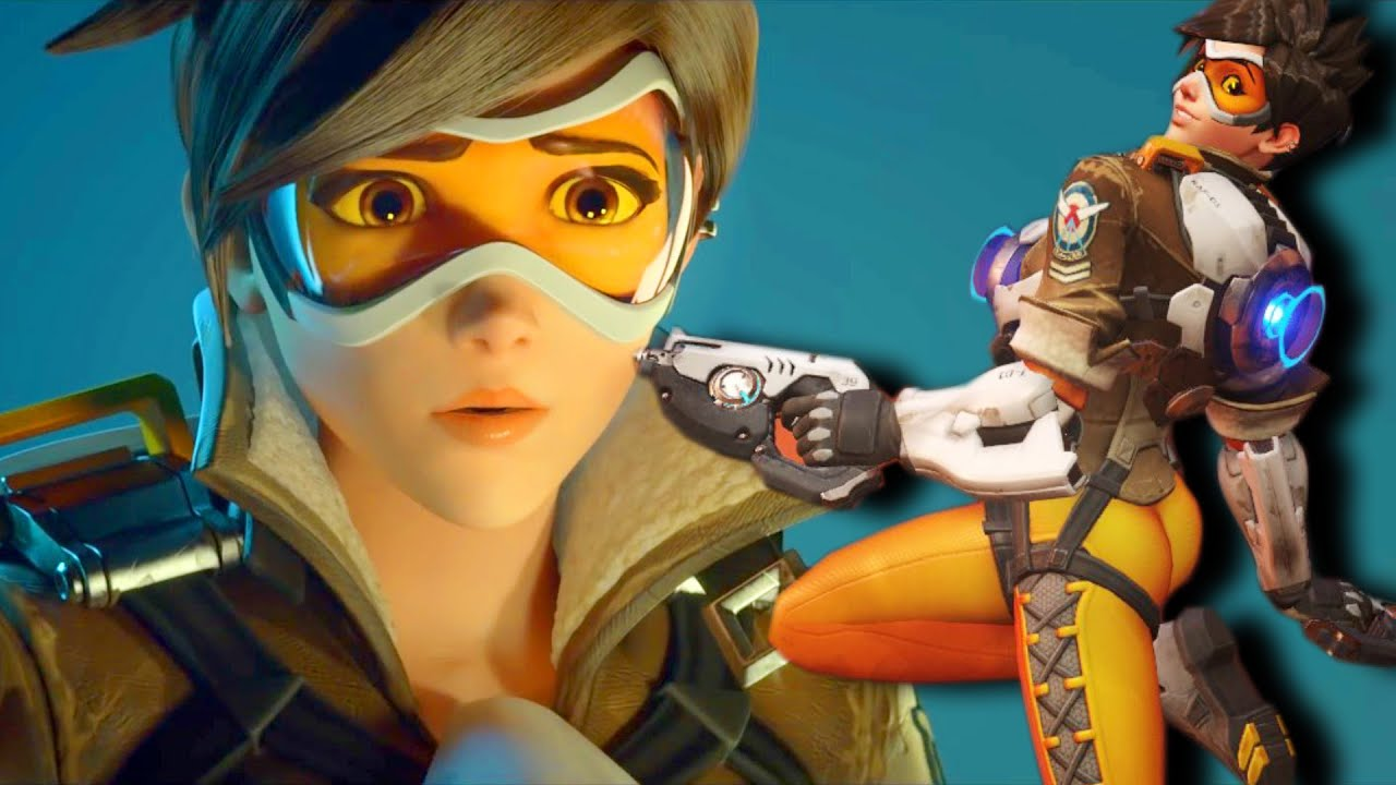 overwatch tracer sexy